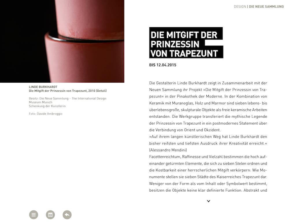 Pinakothek der Moderne - screenshot