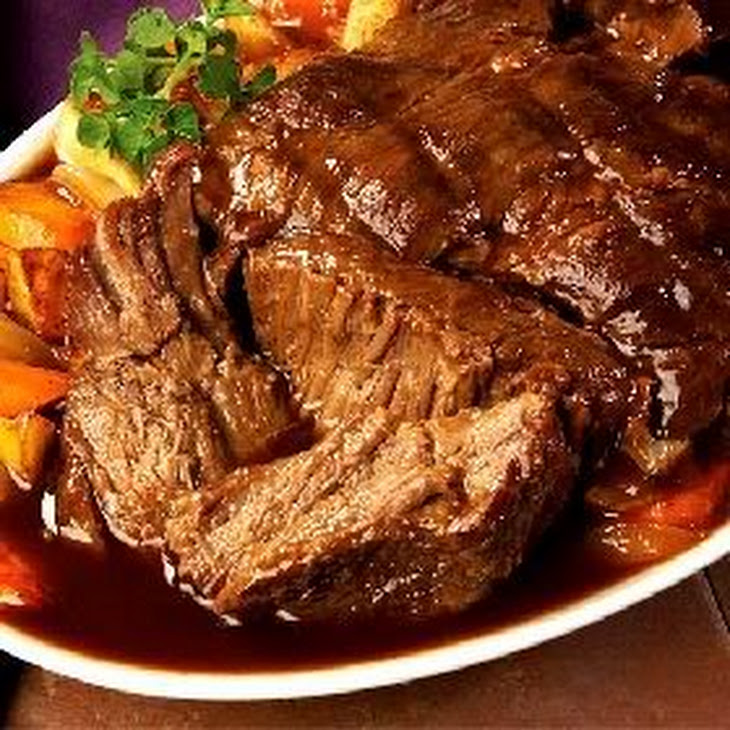 Slow Roasted Round Bottom Pot Roast Recipe