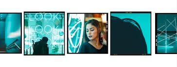 Triple Look Frame - Facebook Template