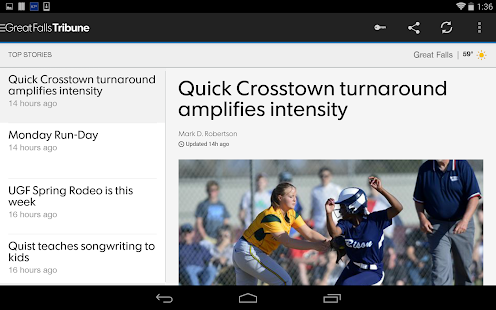 Great Falls Tribune- screenshot thumbnail
