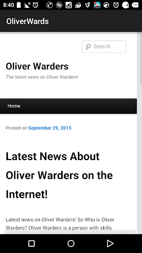 Oliver Warders