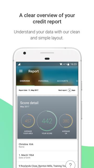 ClearScore - Track Your Credit Score & Finances- screenshot