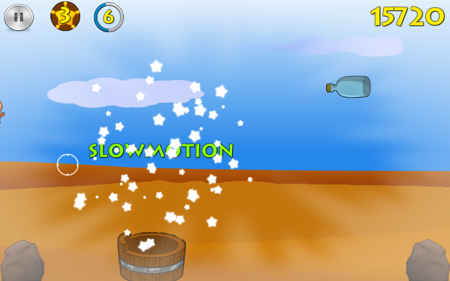 Sammy Skeet Shooter- screenshot
