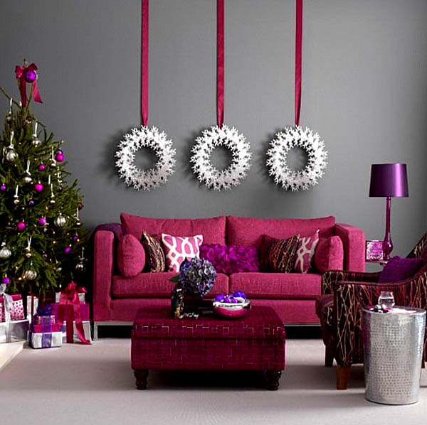 modern-christmas-wall-decoration