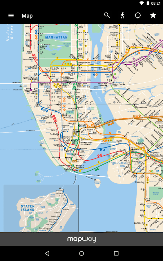 Map Of New York Subway