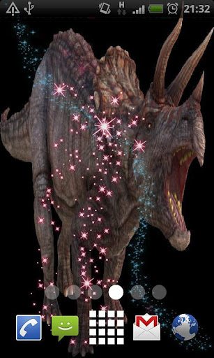 Dinosaur Live Wallpaper