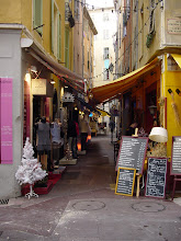Photo: Another typical old city shopping street.