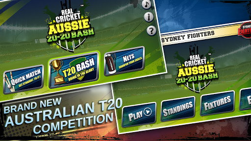 Real Cricket u2122 Aussie 20 Bash 1.0.7 screenshots 7