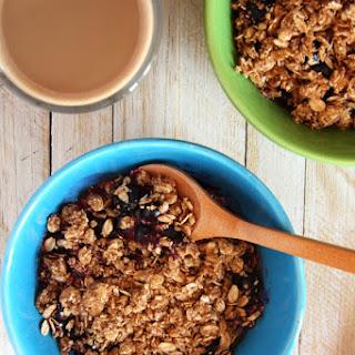 Microwave Berry Breakfast Crumble