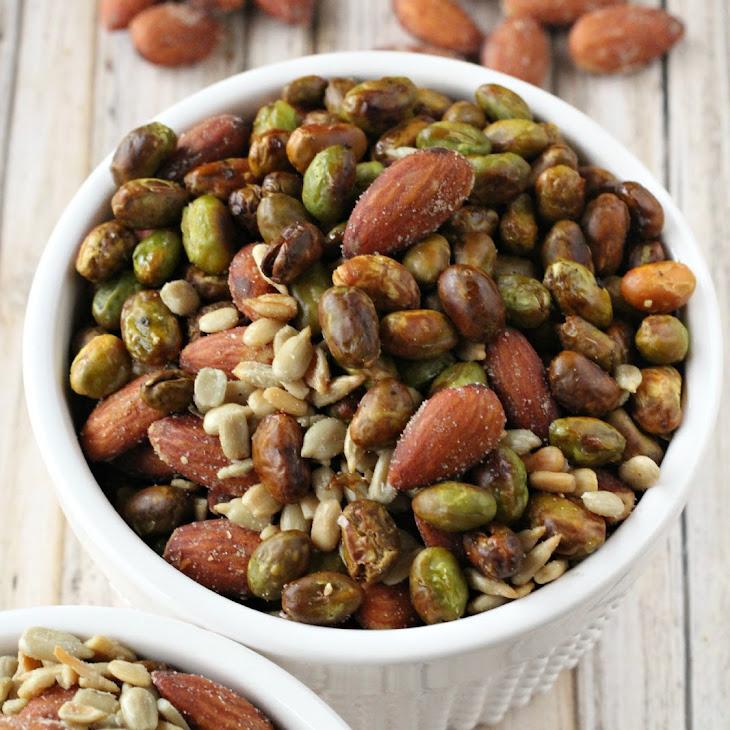 Bold Almond & Roasted Edamame Snack Mix Recipe