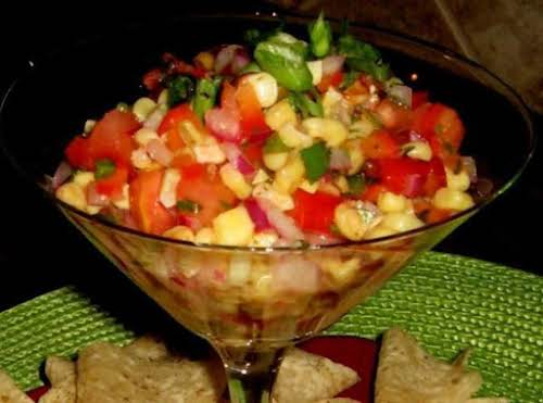 """Roasted Sweet Corn Salsa""""This was wonderful. Roasting the corn adds just the..."""