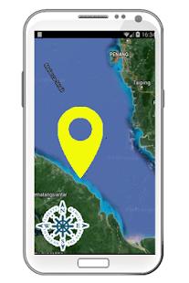 GPS Boat Navigation Screenshot Thumbnail