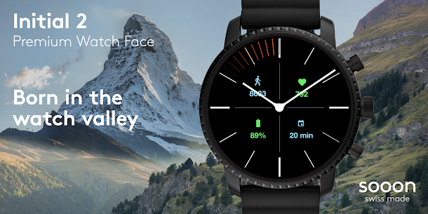 Initial 2 Watch Face 1.1.5 Mod APK (Unlimited) 1