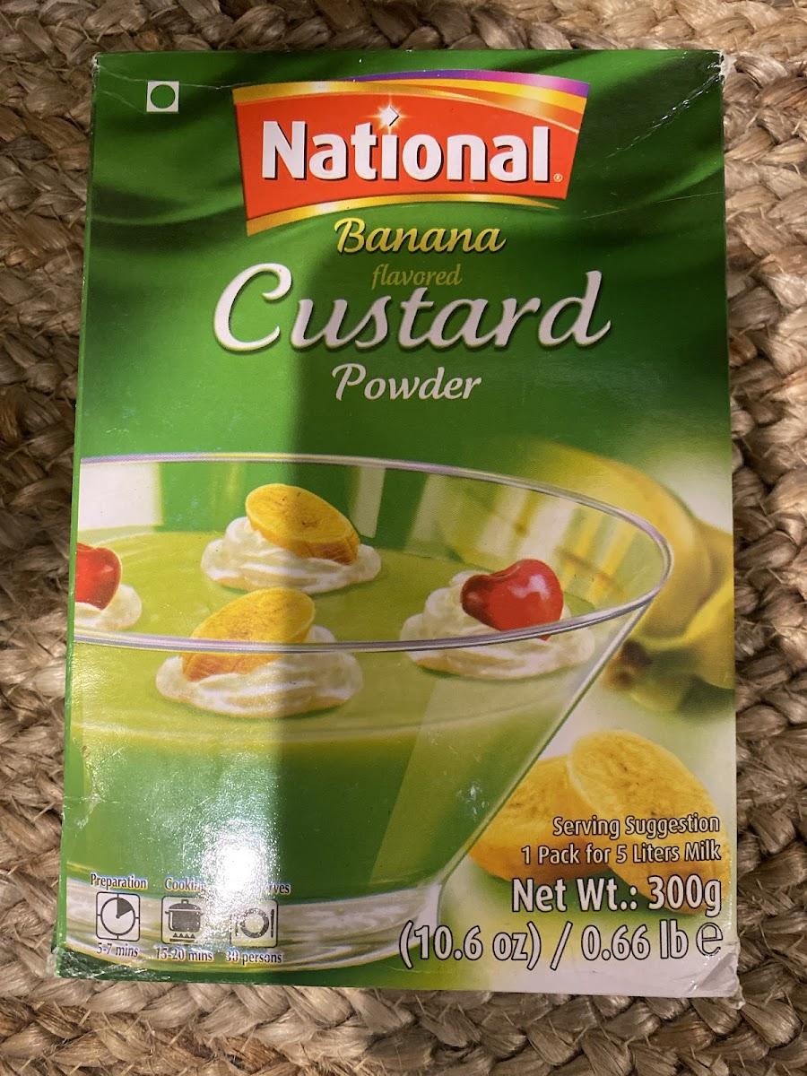 Banana flaver Custard Powder