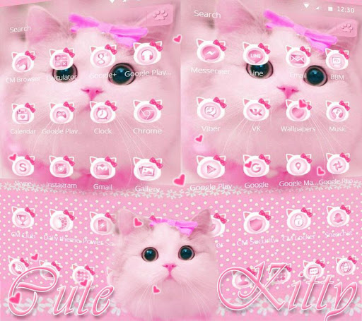 Download Cute Kitty Theme Pink Bow Kitty Free For Android Cute Kitty Theme Pink Bow Kitty Apk Download Steprimo Com