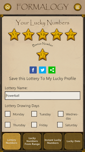 Formalogy Lucky Numbers & Days - náhled