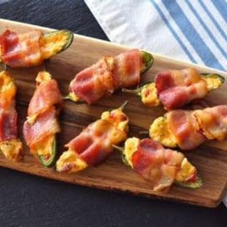 Bacon Wrapped Stuffed Jalapeños.