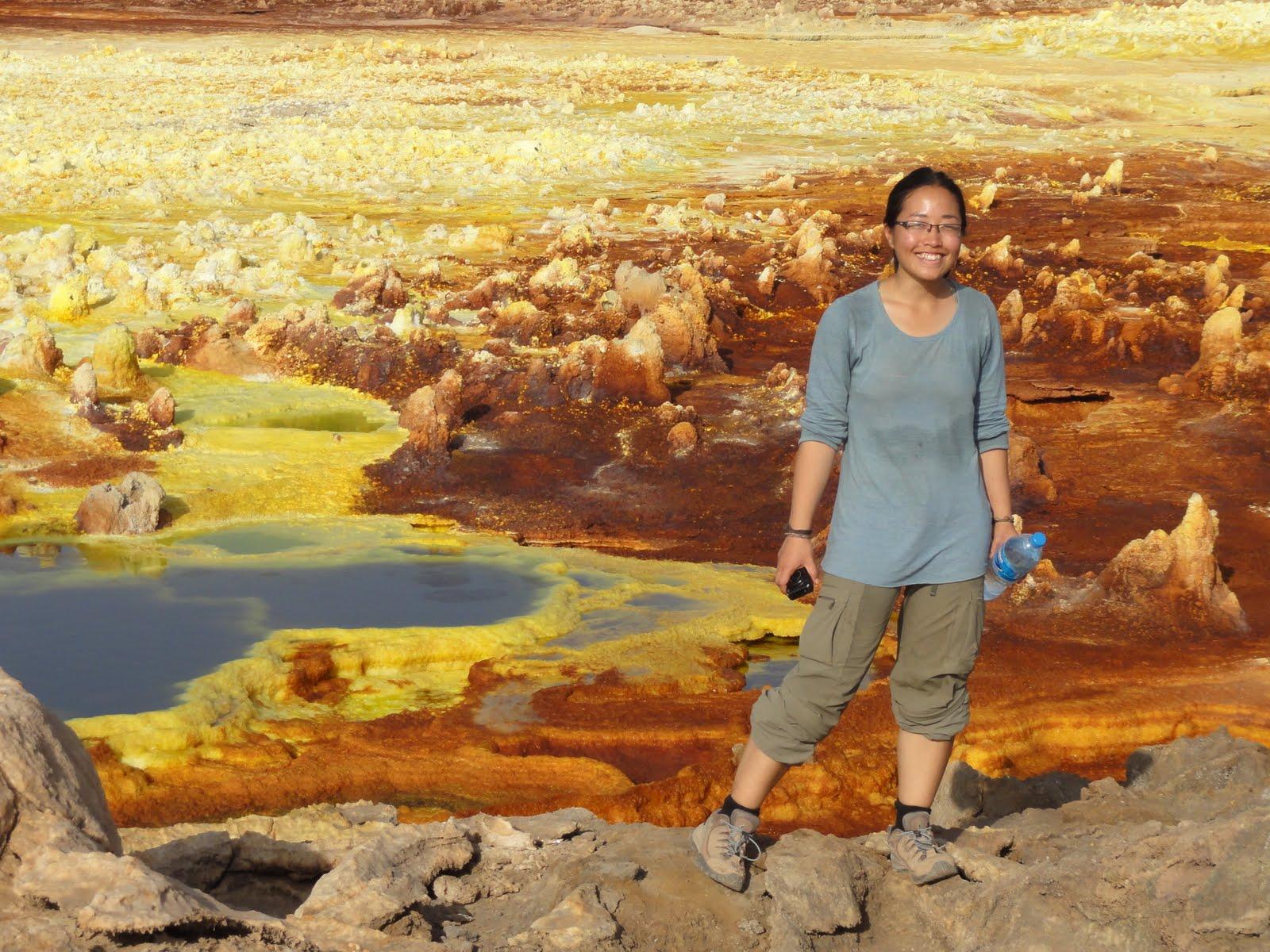 Colorful landscape of Ethiopia