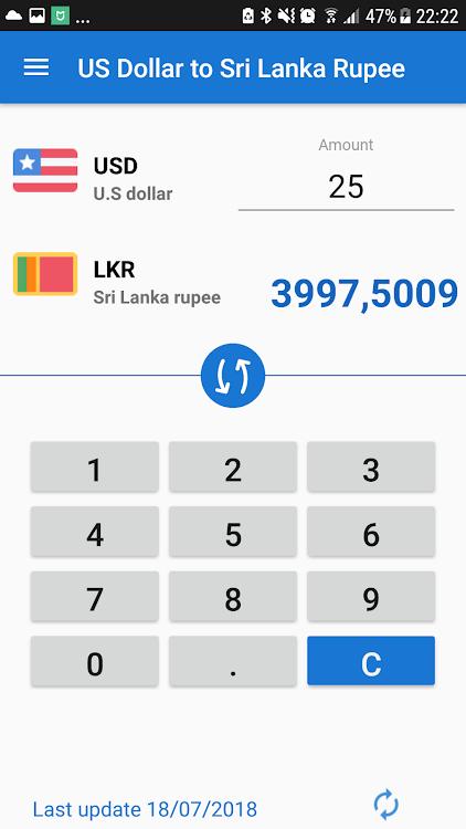 Us Dollar To Sri Lankan Ru Usd