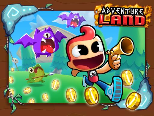 Adventure Land - Wacky Rogue Runner Free Game screenshot 13