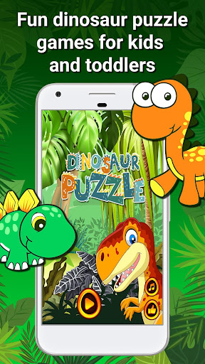 Dinosaur Games - Puzzles for Kids and Toddlers 1.3 screenshots 1