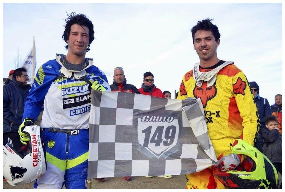 Juanpi Luzzardi y Eze Fanello, en honor a Seba Couto.
