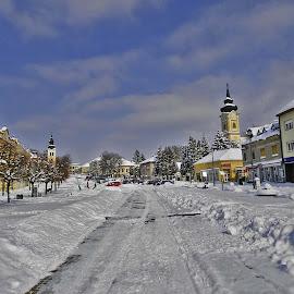 by Bojan Rekic - City,  Street & Park  Neighborhoods