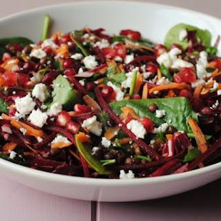 Winter Lentil Salad