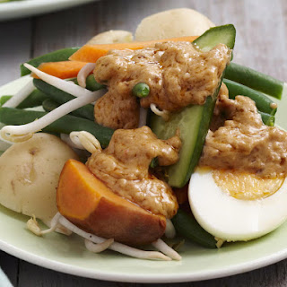 Indonesian Gado Gado.