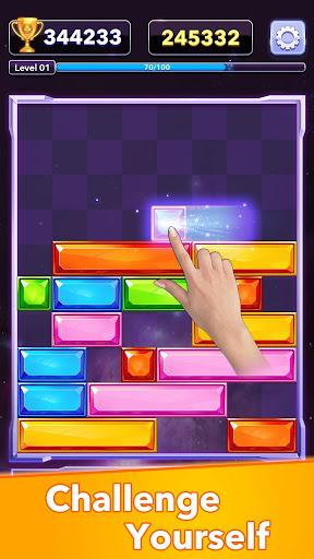 Jewel Slidingu2122 - Falling Puzzle, Slide Puzzle Game  screenshots 5