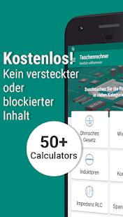 Elektronik-Engineering-Rechner PRO Screenshot