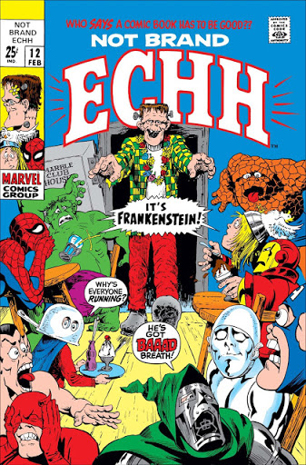 Not Brand Echh #12 - The Frankenstein  Issue!