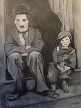 Photo: Charlot et le kid.