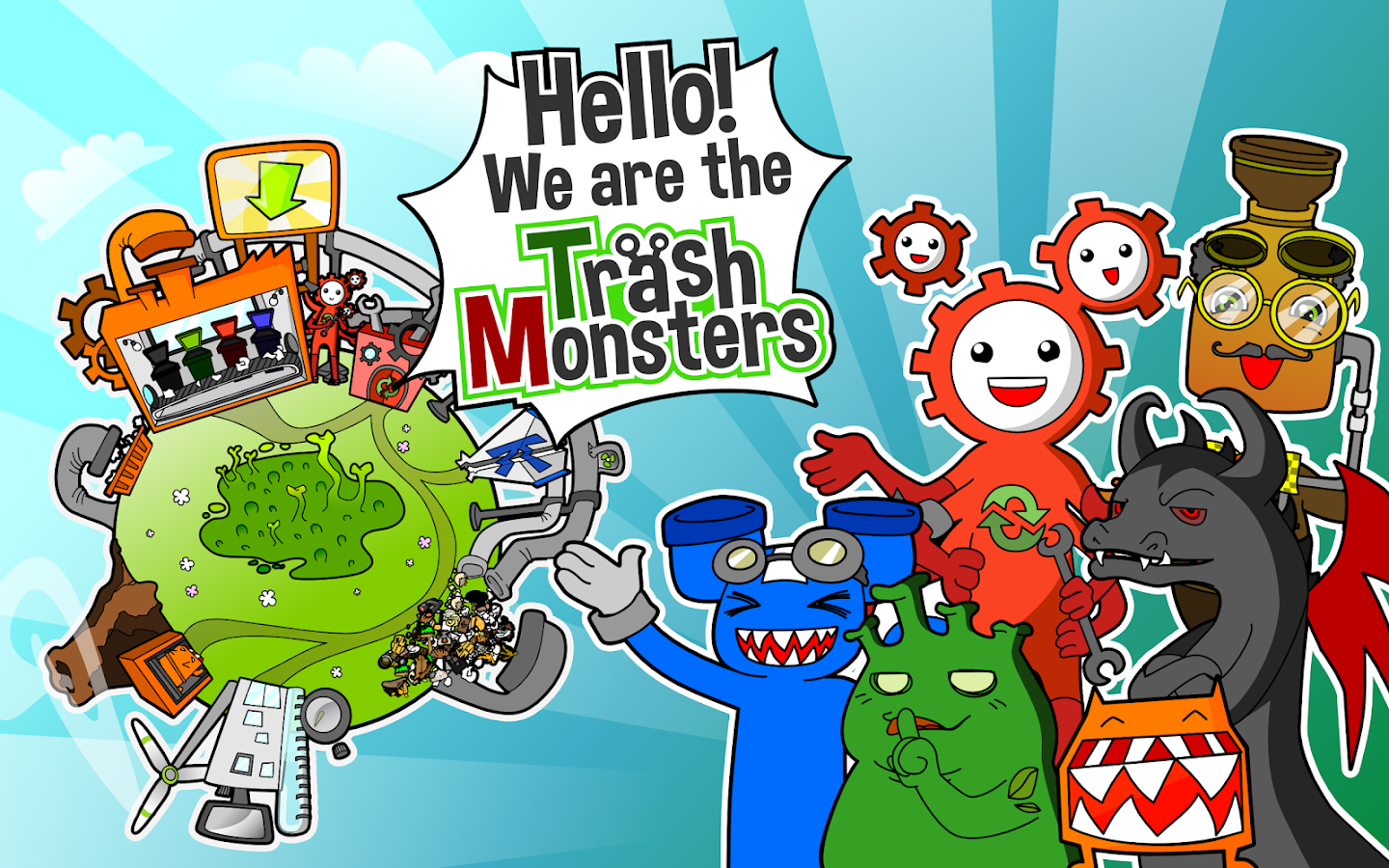 Trash Monsters- screenshot