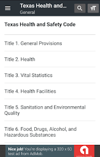 Texas Health and Safety Code 2019 free and offline - náhled