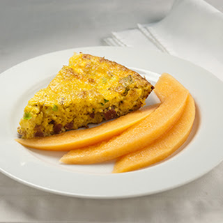 Crustless Breakfast Pie