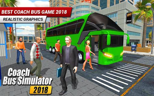 Coach Bus 2018: City Bus Driving Simulator Game 1.0.5 screenshots 4