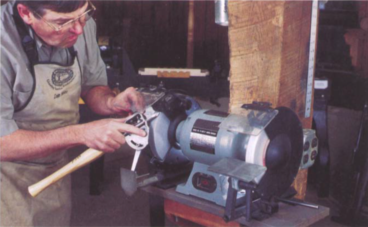 Method of Sharpening Jigs