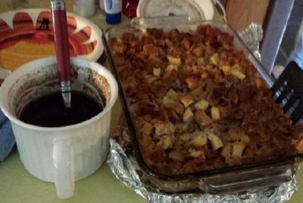 Gluten Free Apple Cinnamon Bread Pudding Recipe