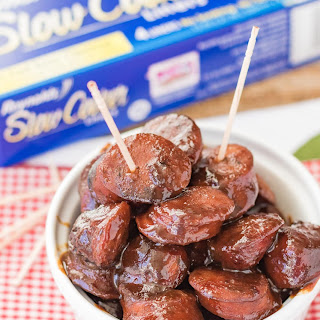 Ultimate Slow Cooker Cocktail Sausages.
