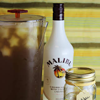 Malibu Rum Simple Syrup.