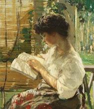 """Photo: Lilian Matilda Genth, """"Un piacevole pomeriggio"""" (1888)"""