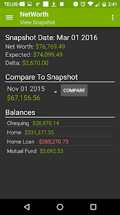 Net Worth Tracker- screenshot thumbnail