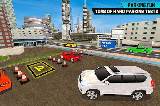 Prado Car Parking City Drive : Free Games 1.0 screenshots 5