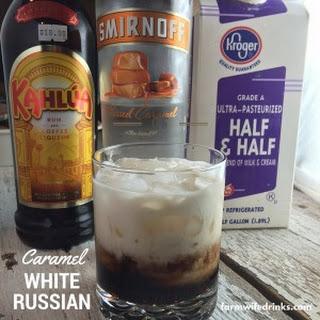Caramel White Russians.