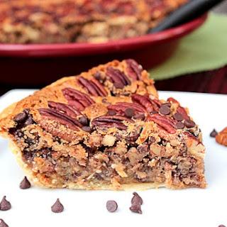 Chocolate Chip Pecan Pie.