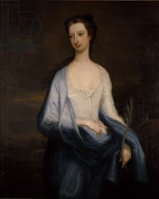 Photo: Catherine Hoskins 1698 - 1777, married 3rd Duke of Devonshire, c.1718 (oil on canvas), Charles Jervas  Chatsworth House