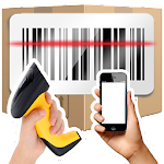 Fast Barcode Scanner Inventory Icon