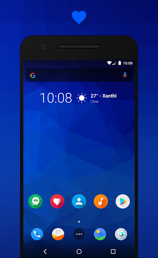 Flux - CM13/12.1 Theme- screenshot