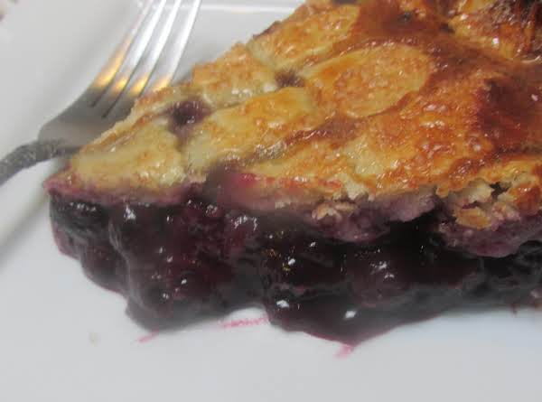 Ozark Blueberry Pie Recipe